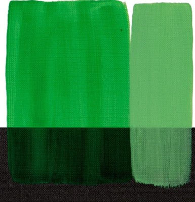 Maimeri Acrilico Akrilik Boya 339 Permanent Green Light 200ml - 339 Permanent Green Light