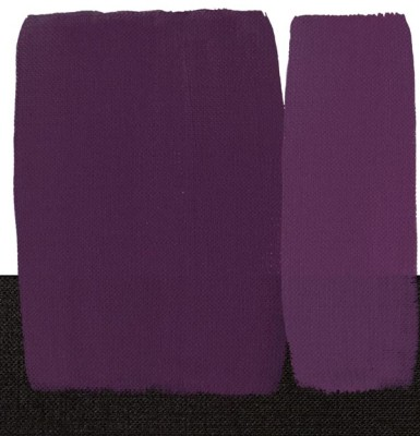 Maimeri Acrilico Akrilik Boya 440 Violet Ultramarine 200ml - 440 Violet Ultramarine