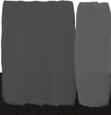 Maimeri Acrilico Akrilik Boya 511 Grey Deep 200ml - 511 Grey Deep