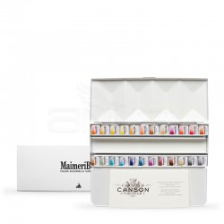 Maimeri Blu Artist Watercolour 1.5ml Tablet 24lü Set - Thumbnail