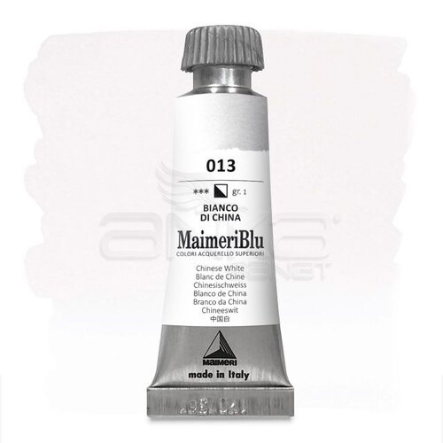 Maimeri Blu Tüp Sulu Boya 12 ml S1 No:013 Chinese White