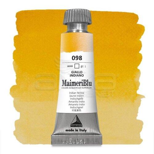 Maimeri Blu Tüp Sulu Boya 12 ml S1 No:098 Indian Yellow