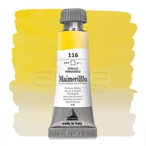 Maimeri Blu Tüp Sulu Boya 12 ml S1 No:116 Primary Yellow