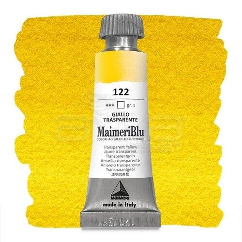Maimeri Blu Tüp Sulu Boya 12 ml S1 No:122 Transparent Yellow