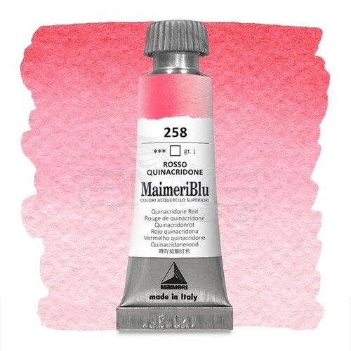 Maimeri Blu Tüp Sulu Boya 12 ml S1 No:258 Quinacridone Red
