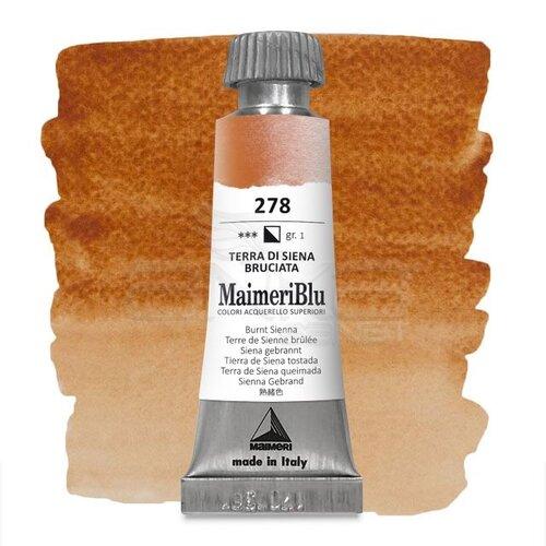 Maimeri Blu Tüp Sulu Boya 12 ml S1 No:278 Burnt Sienna