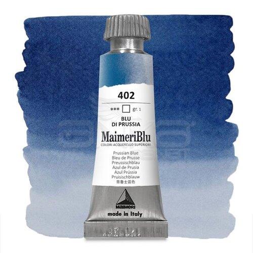 Maimeri Blu Tüp Sulu Boya 12 ml S1 No:402 Prussian Blue
