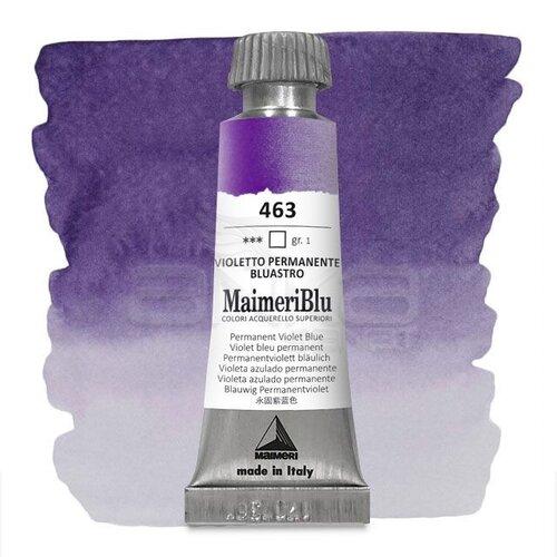 Maimeri Blu Tüp Sulu Boya 12 ml S1 No:463 Permanent Violet Blueish