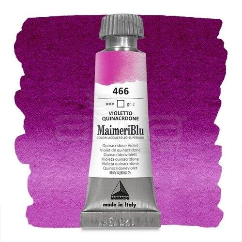 Maimeri Blu Tüp Sulu Boya 12 ml S2 No:466 Quinacridone Violet