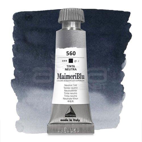 Maimeri Blu Tüp Sulu Boya 12 ml S2 No:560 Neutral Tint