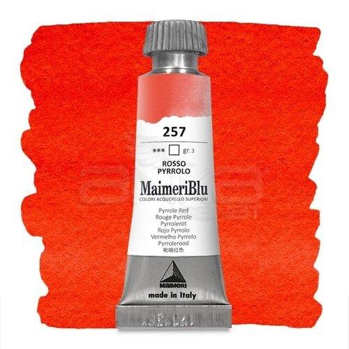 Maimeri Blu Tüp Sulu Boya 12 ml S3 No:257 Pyrrole Red