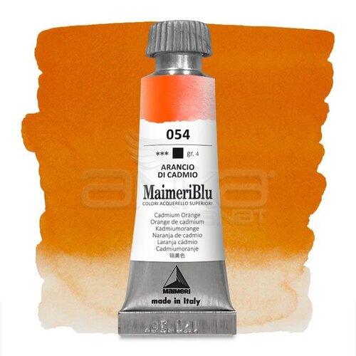 Maimeri Blu Tüp Sulu Boya 12 ml S4 No:054 Cadmium Orange