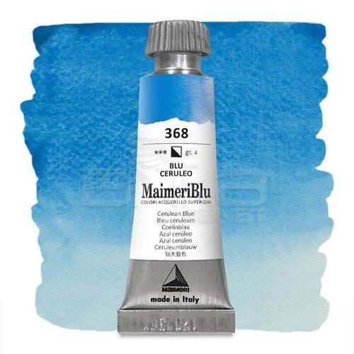 Maimeri Blu Tüp Sulu Boya 12 ml S4 No:368 Cerulean Blue