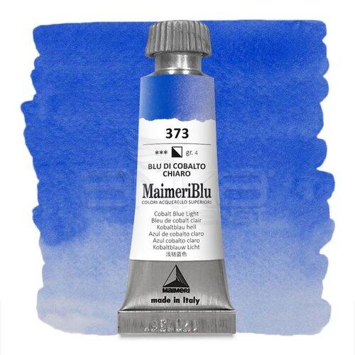 Maimeri Blu Tüp Sulu Boya 12 ml S4 No:373 Cobalt Blue Light