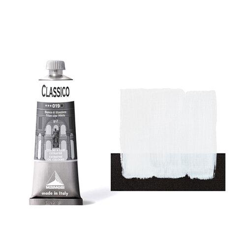Maimeri Classico 60ml Yağlı Boya 019 Titan-Zinc White - 019 Titan-Zinc White