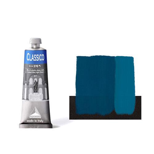 Maimeri Classico 60ml Yağlı Boya 370 Cobalt Blue Light - 370 Cobalt Blue Light