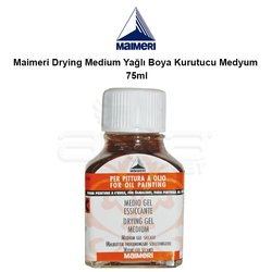 Maimeri - Maimeri Drying Medium Yağlı Boya Kurutucu Medyum 75ml
