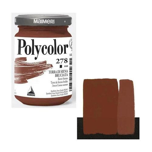 Maimeri Polycolor Akrilik Boya 140ml Burnt Sienna 278 - 278 Burnt Sienna