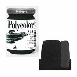 Maimeri - Maimeri Polycolor Akrilik Boya 140ml Micaceous Black 541