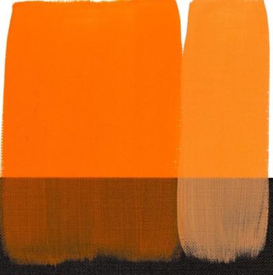 Maimeri Polycolor Akrilik Boya 140ml Orange Yellow 072 - 072 Orange Yellow