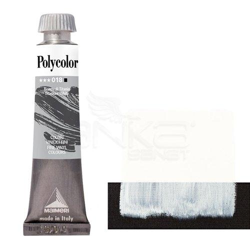 Maimeri Polycolor Akrilik Boya 60ml Titanium White 018
