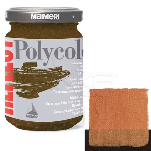 Maimeri Polycolor Reflect Boya 140ml 565 Sequin Gold