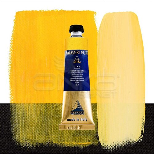 Maimeri Puro Yağlı Boya 40ml Seri 1 122 Transparent Yellow