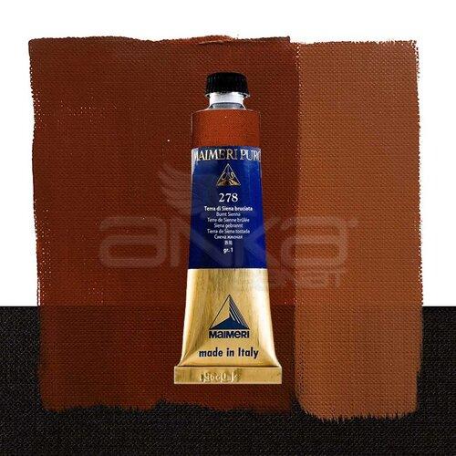Maimeri Puro Yağlı Boya 40ml Seri 1 278 Burnt Sienna