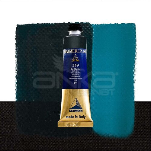 Maimeri Puro Yağlı Boya 40ml Seri 1 359 Berlin Blue