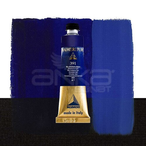 Maimeri Puro Yağlı Boya 40ml Seri 1 391 Ultramarine Light