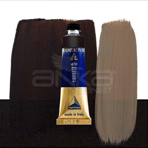 Maimeri Puro Yağlı Boya 40ml Seri 1 470 Bitumen
