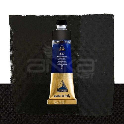 Maimeri Puro Yağlı Boya 40ml Seri 1 537 Carbon Black