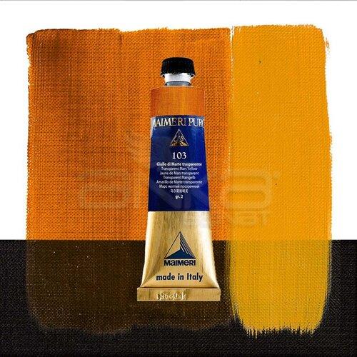 Maimeri Puro Yağlı Boya 40ml Seri 2 103 Transparent Mars Yellow