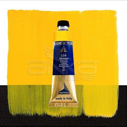 Maimeri Puro Yağlı Boya 40ml Seri 2 116 Primary Yellow