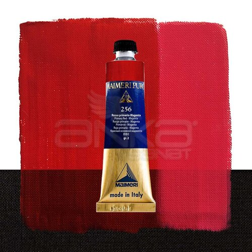 Maimeri Puro Yağlı Boya 40ml Seri 2 256 Primary Red - Magenta