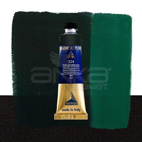 Maimeri Puro Yağlı Boya 40ml Seri 2 324 Cupric Green Deep