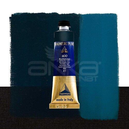 Maimeri Puro Yağlı Boya 40ml Seri 2 400 Primary Blue - Cyan