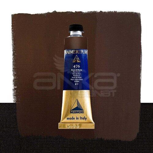 Maimeri Puro Yağlı Boya 40ml Seri 2 476 Mars Brown
