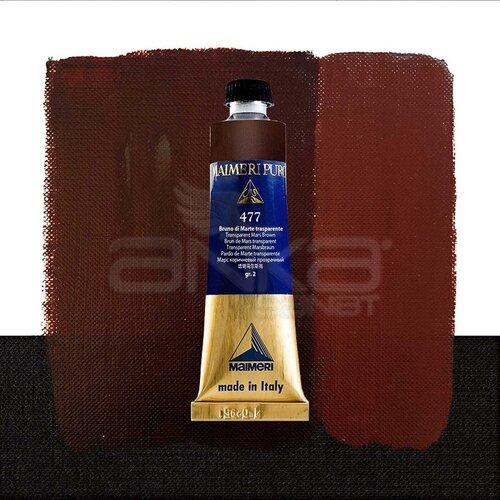 Maimeri Puro Yağlı Boya 40ml Seri 2 477 Transparent Mars Brown