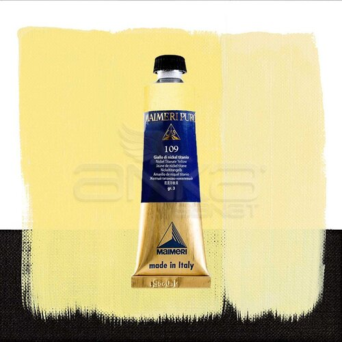 Maimeri Puro Yağlı Boya 40ml Seri 3 109 Nickel Titanate Yellow