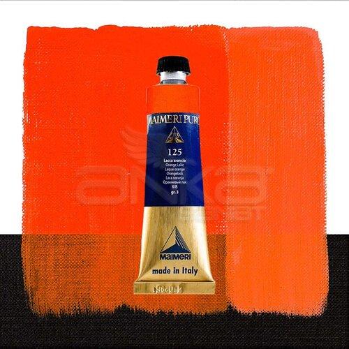 Maimeri Puro Yağlı Boya 40ml Seri 3 125 Orange Lake