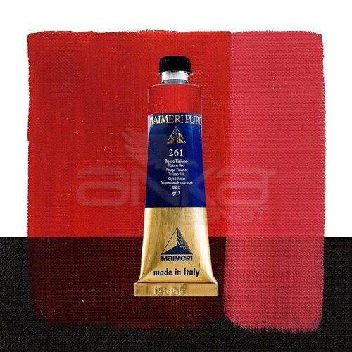 Maimeri Puro Yağlı Boya 40ml Seri 3 261 Tiziano Red