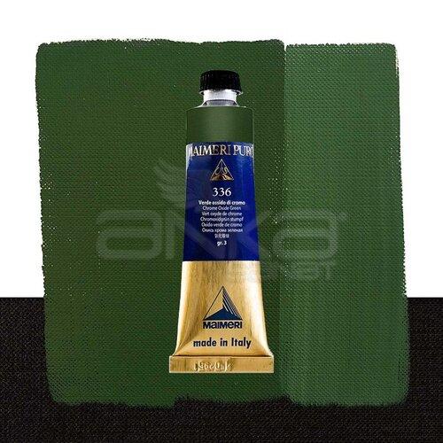 Maimeri Puro Yağlı Boya 40ml Seri 3 336 Chrome Oxide Green