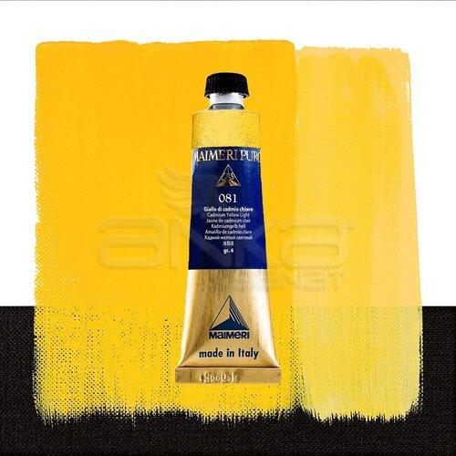 Maimeri Puro Yağlı Boya 40ml Seri 4 081 Cadmium Yellow Light