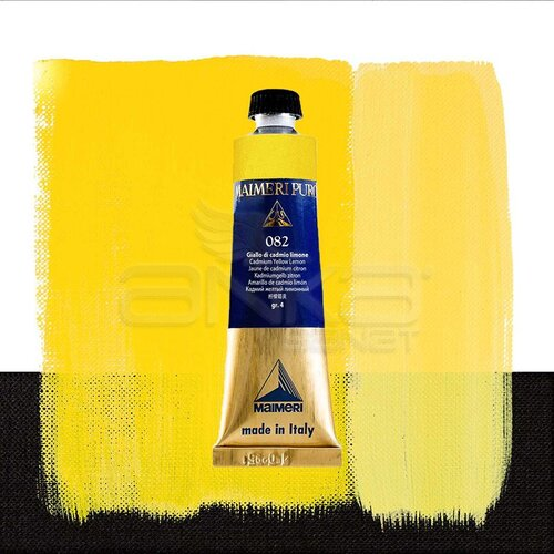 Maimeri Puro Yağlı Boya 40ml Seri 4 082 Cadmium Yellow Lemon