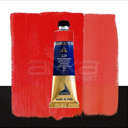 Maimeri Puro Yağlı Boya 40ml Seri 4 226 Cadmium Red Light