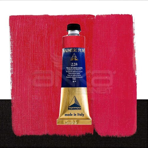 Maimeri Puro Yağlı Boya 40ml Seri 4 228 Cadmium Red Medium