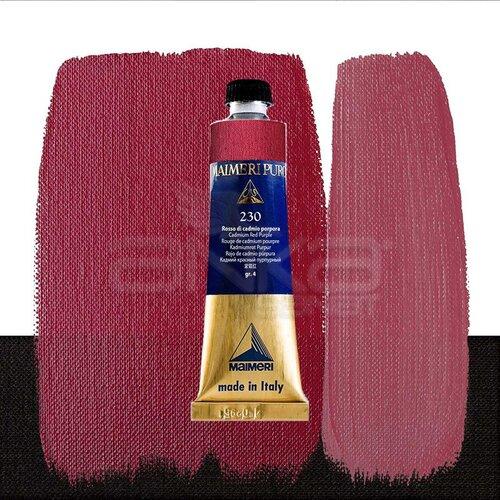 Maimeri Puro Yağlı Boya 40ml Seri 4 230 Cadmium Red Purple