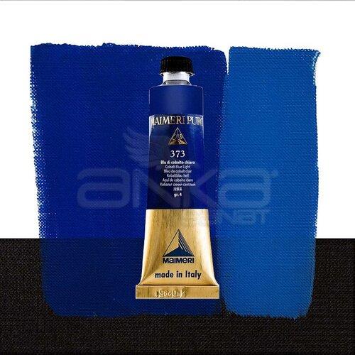 Maimeri Puro Yağlı Boya 40ml Seri 4 373 Cobalt Blue Light