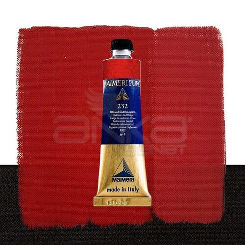 Maimeri Puro Yağlı Boya 40ml Seri 5 232 Cadmium Red Deep